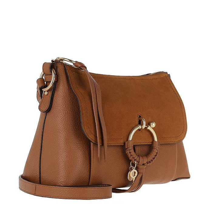60d207025356 Joan Shoulder Bag Suede Caramello - See by Chloé.  535.00 Actual  transaction amount