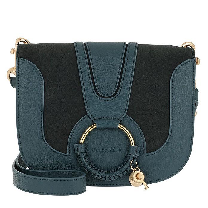 Hana Crossbody Bag Small Steel Blue - See by Chloé
