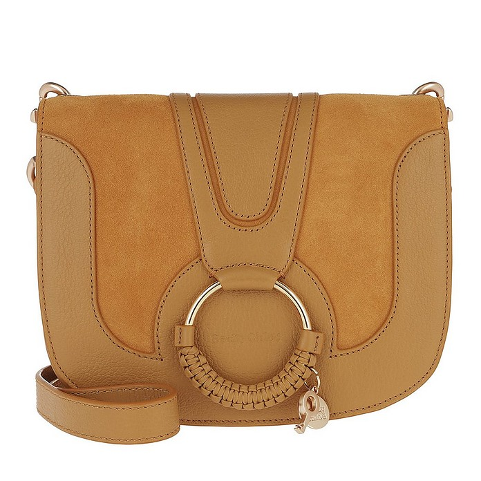 Hana Shoulder Bag Goat Leather Gold - See by Chloé