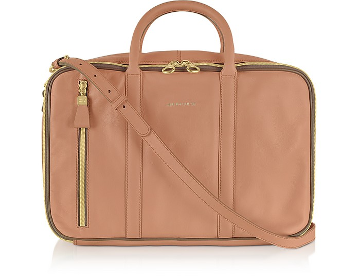 Harriet Brushed Leather Tote  - See by Chloé