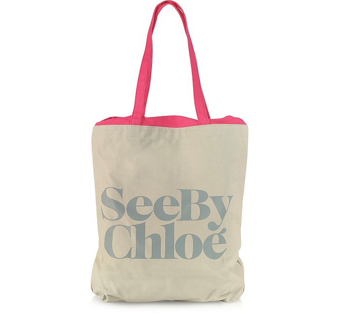 Signature Canvas Tote Bag - See by Chloé