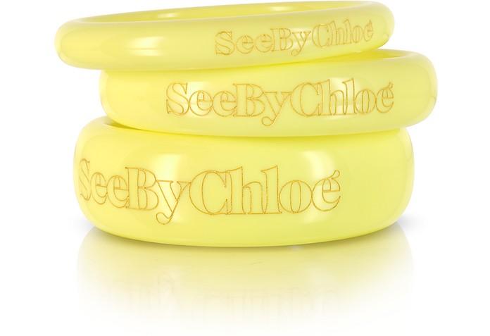 Signature Bangle Bracelets - See by Chloé