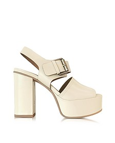 Opale Leather Platform Sandal  - See by Chloé
