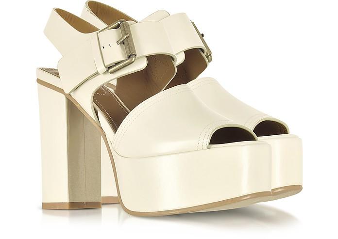 Chloé Shoes, Opale Leather Platform Sandal