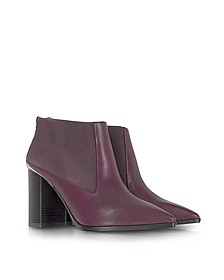 Carnaby Purple Leather Bootie