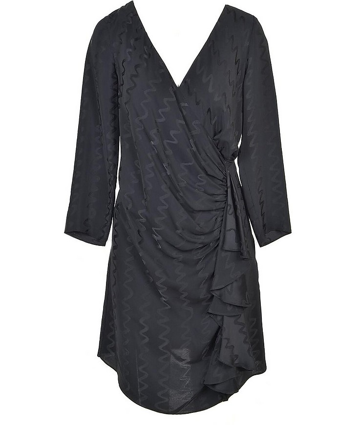 Women's Black Dress - Hanita Couture