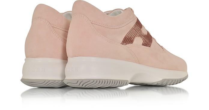 scarpe hogan rosa cipria