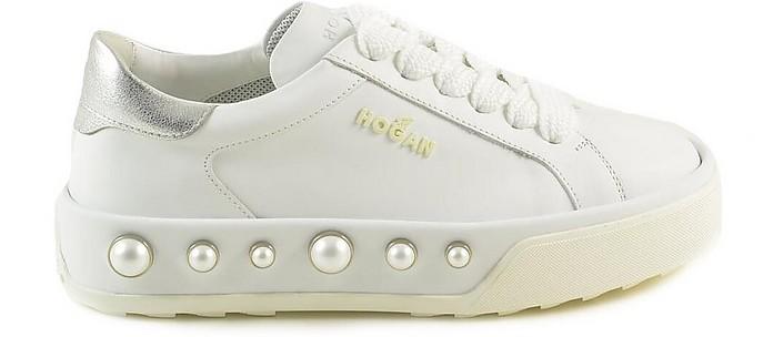 Hogan Women's White Sneakers 35.5 IT/EU at FORZIERI Australia