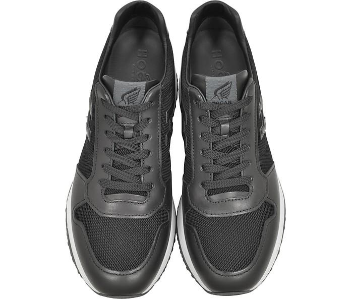 Interactive N20 H 3D Sneaker Uomo in Pelle Nera Hogan 11 (45 EU) su ... 4dd753817cc