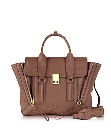 Taupe Leather Pashli Medium Satchel Bag - 3.1 Phillip Lim