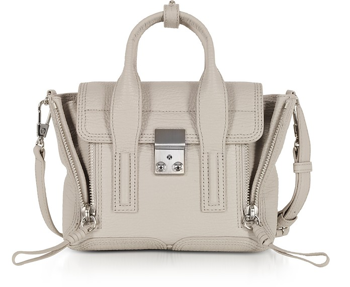 b4d2ad74db95 3.1 Phillip Lim Feather Leather Pashli Mini Satchel Bag at FORZIERI UK