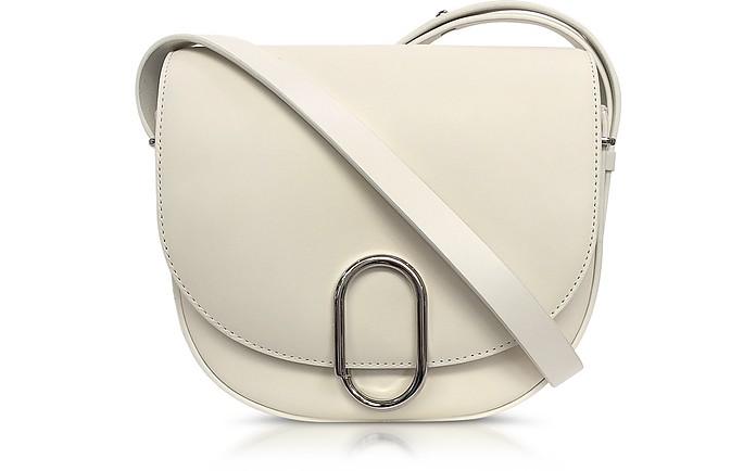 Alix Off White Leather Saddle Crossbody Bag  - 3.1 Phillip Lim