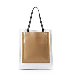 Slim Accordion Natural Leather Tote Bag - 3.1 Phillip Lim