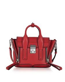 Scarlet Leather Pashli Mini Satchel Bag - 3.1 Phillip Lim