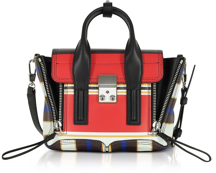 Multi Scarlet Leather Pashli Mini Satchel Bag - 3.1 Phillip Lim