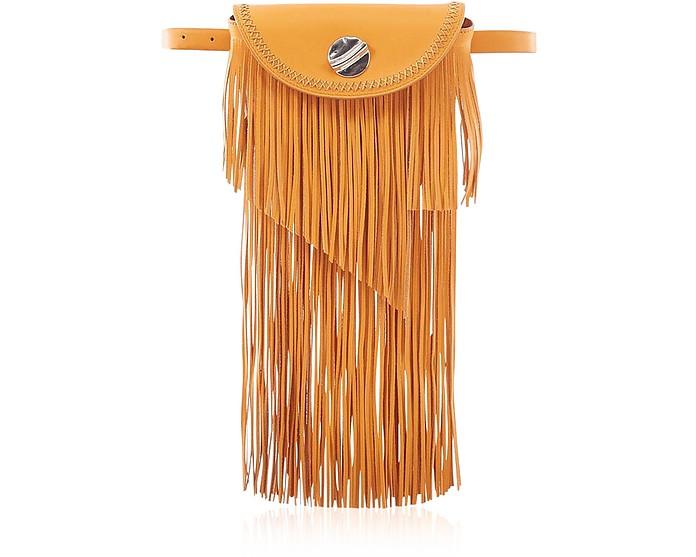 Hudson Sunglasses Case Crossbody Bag w/Fringe - 3.1 Phillip Lim