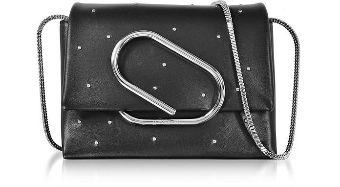 Alix Black Leather Micro Crossbody Bag - 3.1 Phillip Lim