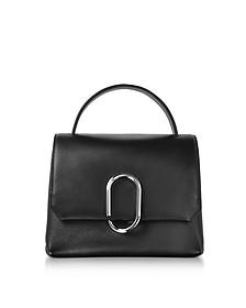Alix Black Leather Mini Top Handle Satchel Bag - 3.1 Phillip Lim