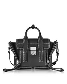 Pashli Black Leather Mini Satchel Bag - 3.1 Phillip Lim