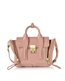 Pashli Ceramic Patent Leather Mini Satchel Bag - 3.1 Phillip Lim