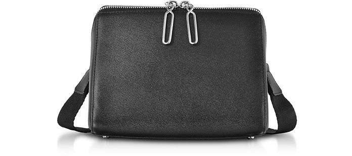 Black Leather Ray Triangle Crossbody Bag - 3.1 Phillip Lim