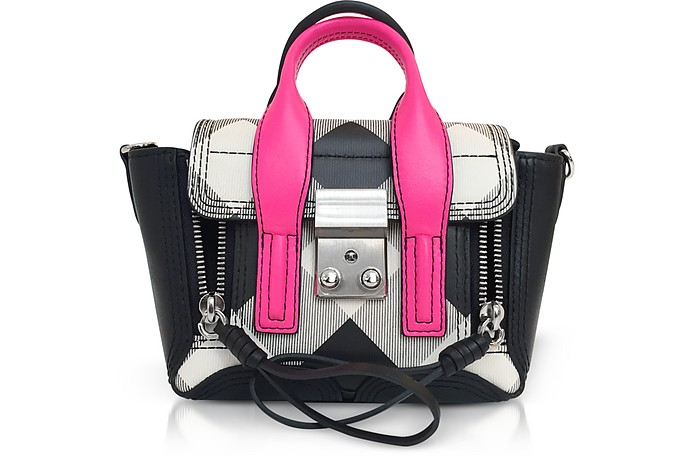 b3271a6e81fe 3.1 Phillip Lim Pashli Gingham Nano Satchel Bag at FORZIERI Canada