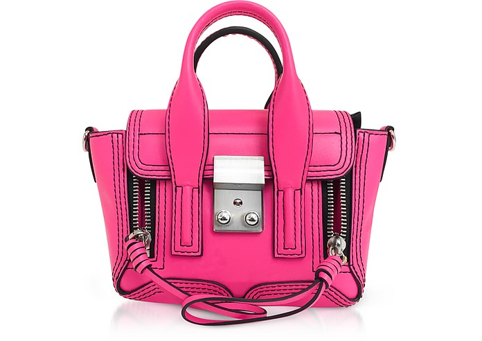 Pashli Nano in Pelle Neon Pink - 3.1 Phillip Lim