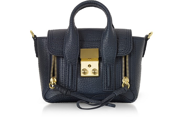 Ink Leather Pashli Nano Satchel Bag - 3.1 Phillip Lim