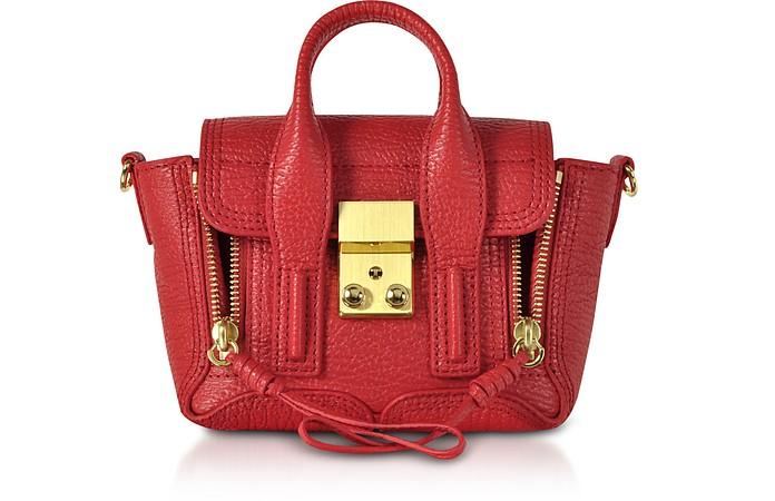 Red Leather Pashli Nano Satchel Bag - 3.1 Phillip Lim
