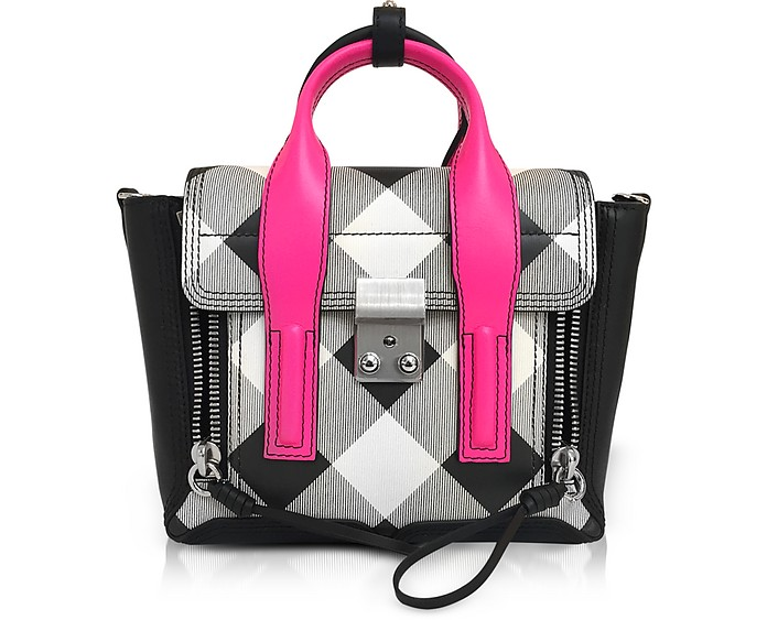 Pashli Gingham Mini Satchel Bag - 3.1 Phillip Lim