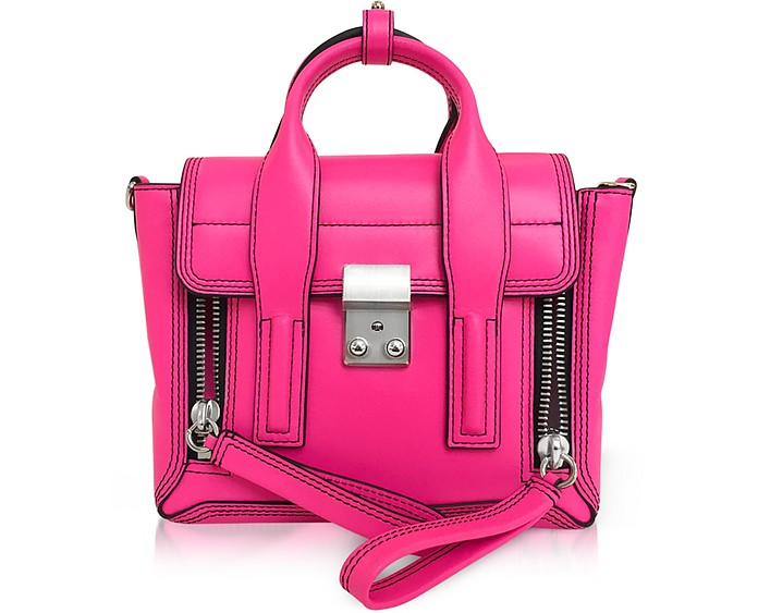 Neon Pink Leather Pashli Mini Satchel - 3.1 Phillip Lim