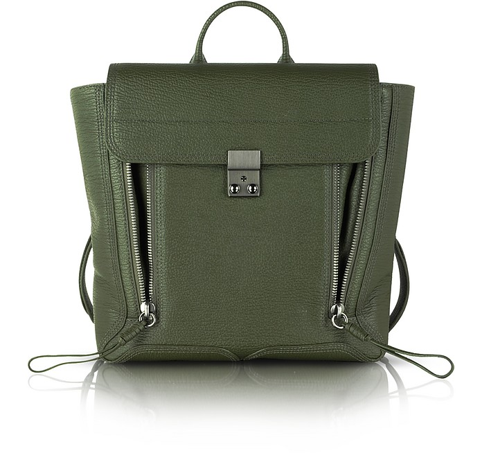 Military Leather Pashli Backpack - 3.1 Phillip Lim