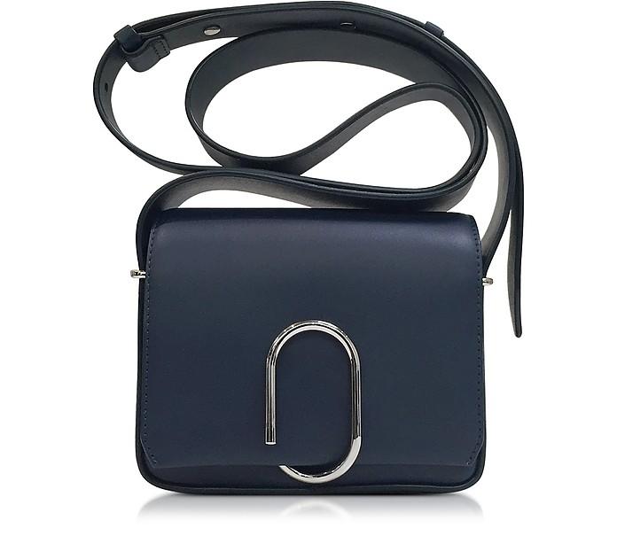 Alix Navy Leather Flap Mini Crossbody Bag - 3.1 Phillip Lim