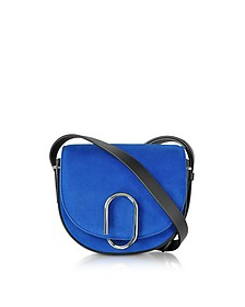 Electric Blue Suede Alix Mini Saddle Bag - 3.1 Phillip Lim
