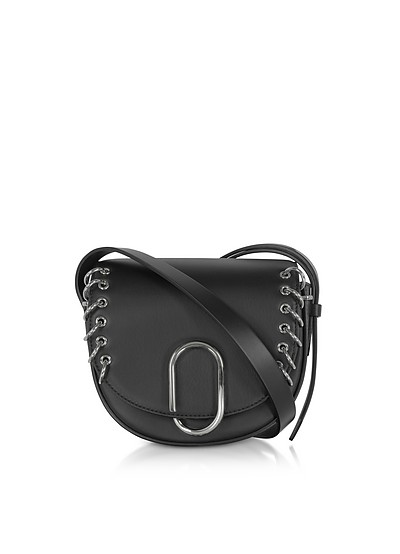 Black Alix Mini Crossbody Bag w/Metal Rings - 3.1 Phillip Lim