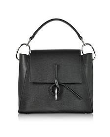 Black Leigh Top Handle Satchel Bag - 3.1 Phillip Lim