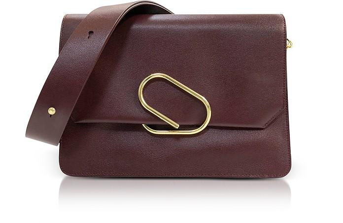 Bordeaux Leather Alix Shoulder Bag - 3.1 Phillip Lim