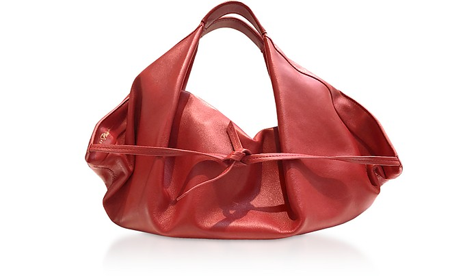 Scarlet Leather Luna Mini Slouchy Hobo Bag - 3.1 Phillip Lim