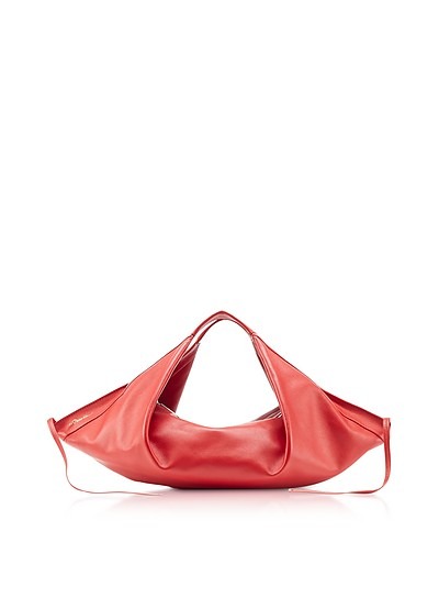 Luna - Mini Sac à Main en Cuir Rouge - 3.1 Phillip Lim