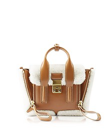 Shearling Pashli Mini Satchel