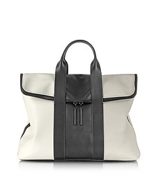 Tricolor Leather 31 Hours Bag