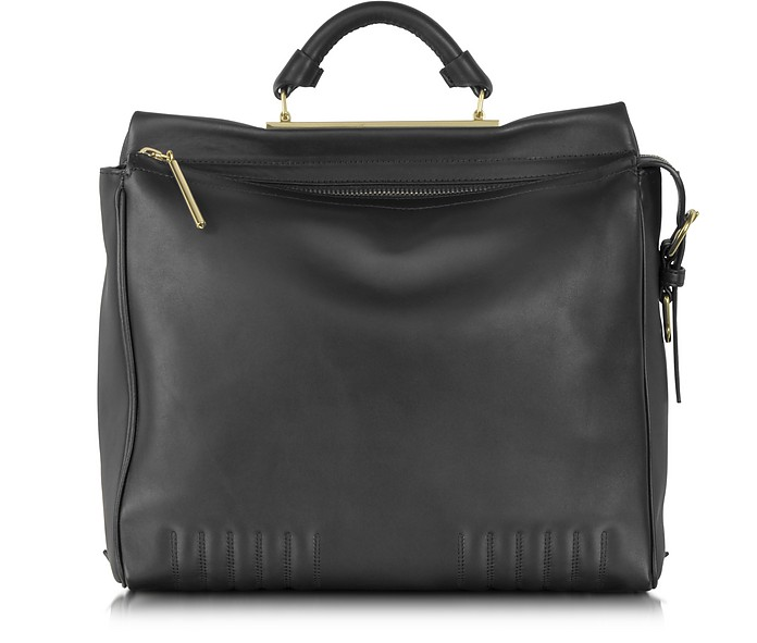 Ryder Satchel - Black Leather - 3.1 Phillip Lim