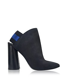 Drum Black Leather Slingback Boots w/Elastic - 3.1 Phillip Lim