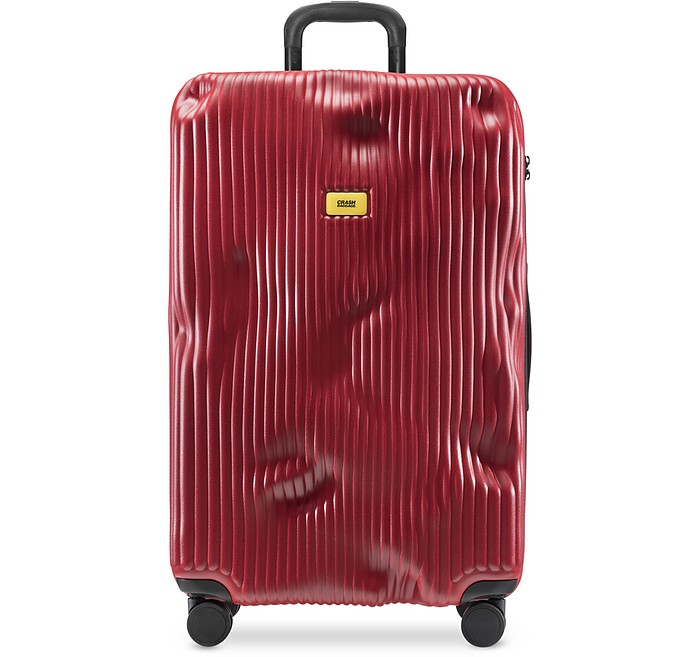 Stripe Large Trolley - Crash Baggage