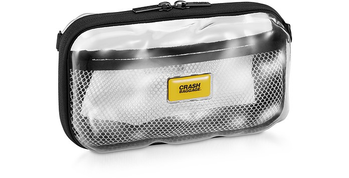 Mini Share Clear Hard Travel Case - Crash Baggage