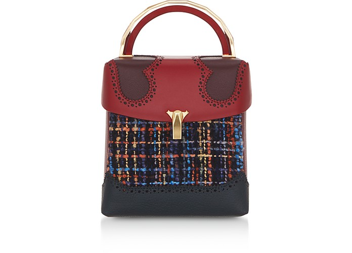 Tweed Great L Box Alice Bag - The Volon