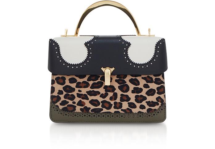 Leopard Print Data Alice 2 Bag - The Volon