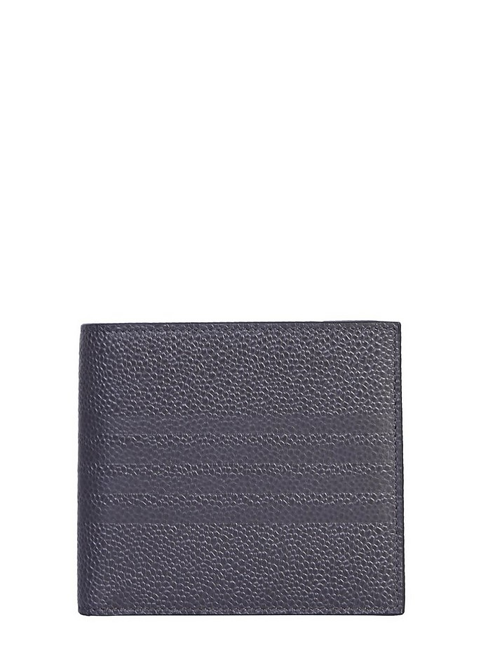 BILLFOLD WALLET WITH LOGO - Thom Browne