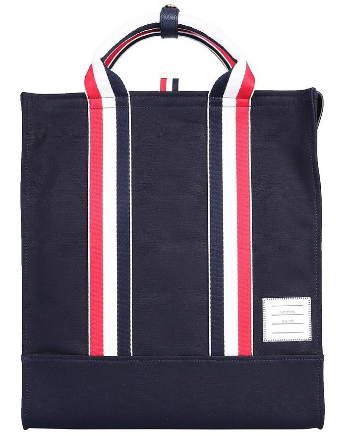 Shopping Bag With Logo - Thom Browne