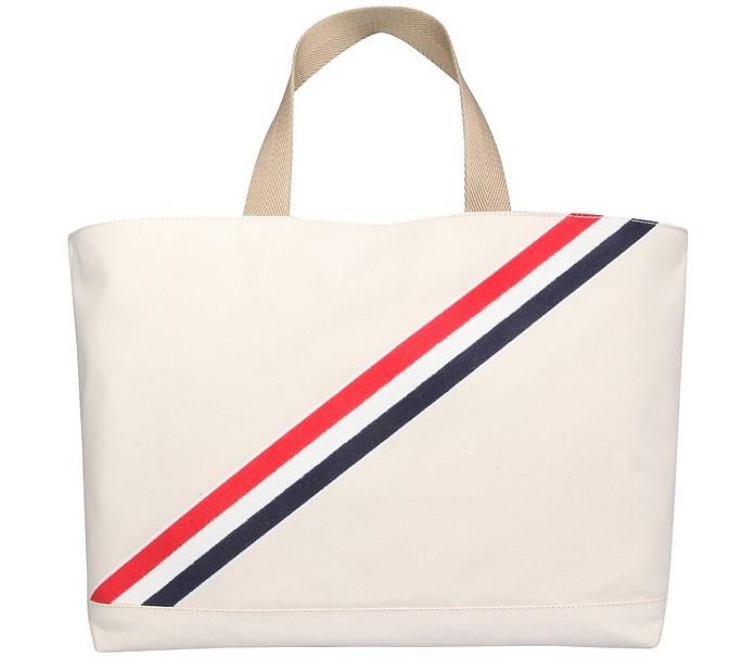 Medium Tote Bag - Thom Browne
